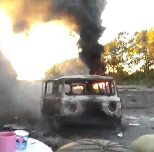 Террористы пытаются прорвать оборону украинских войск в районе Дебальцевского плацдарма, - ИС - Цензор.НЕТ 7377