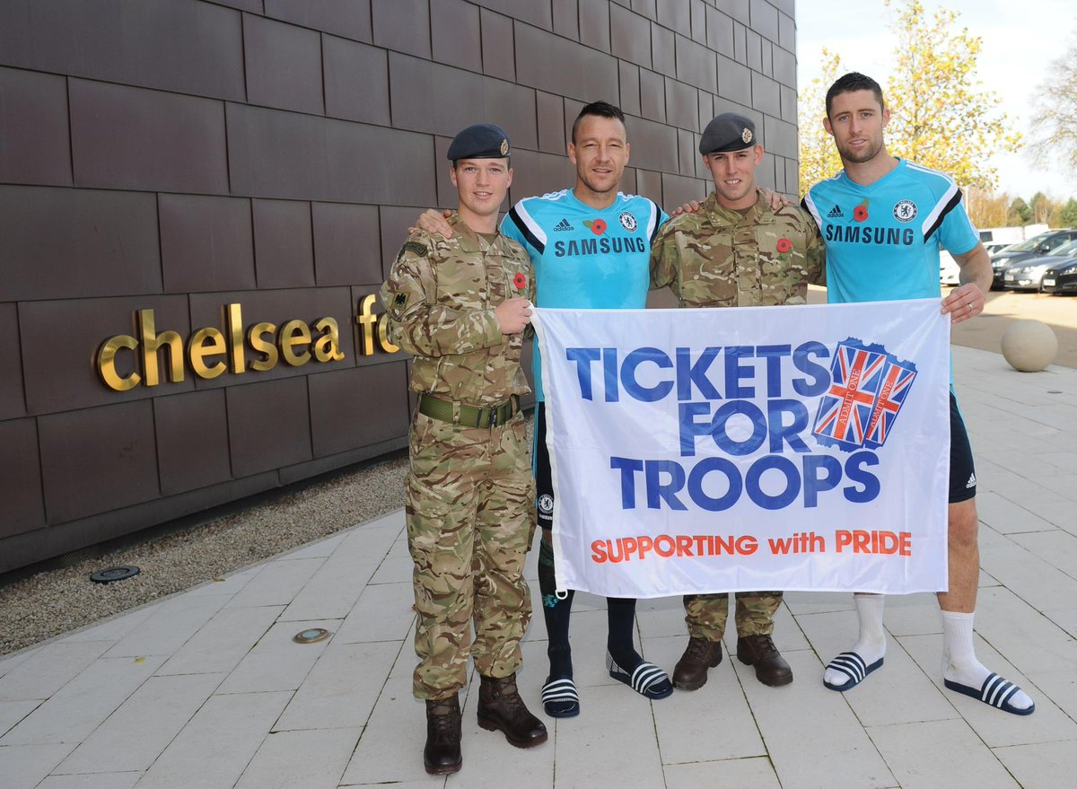 .@Tickets4Troops history has been made today! ALL TWENTY @premierleague clubs are now supporting our troops! http://t.co/BV2c4APhcw