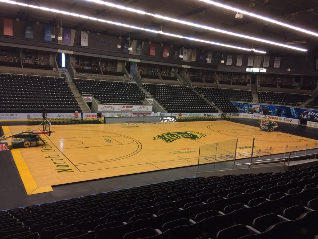 Ndsu Athletics On Twitter Scheels Arena Is Ready For The