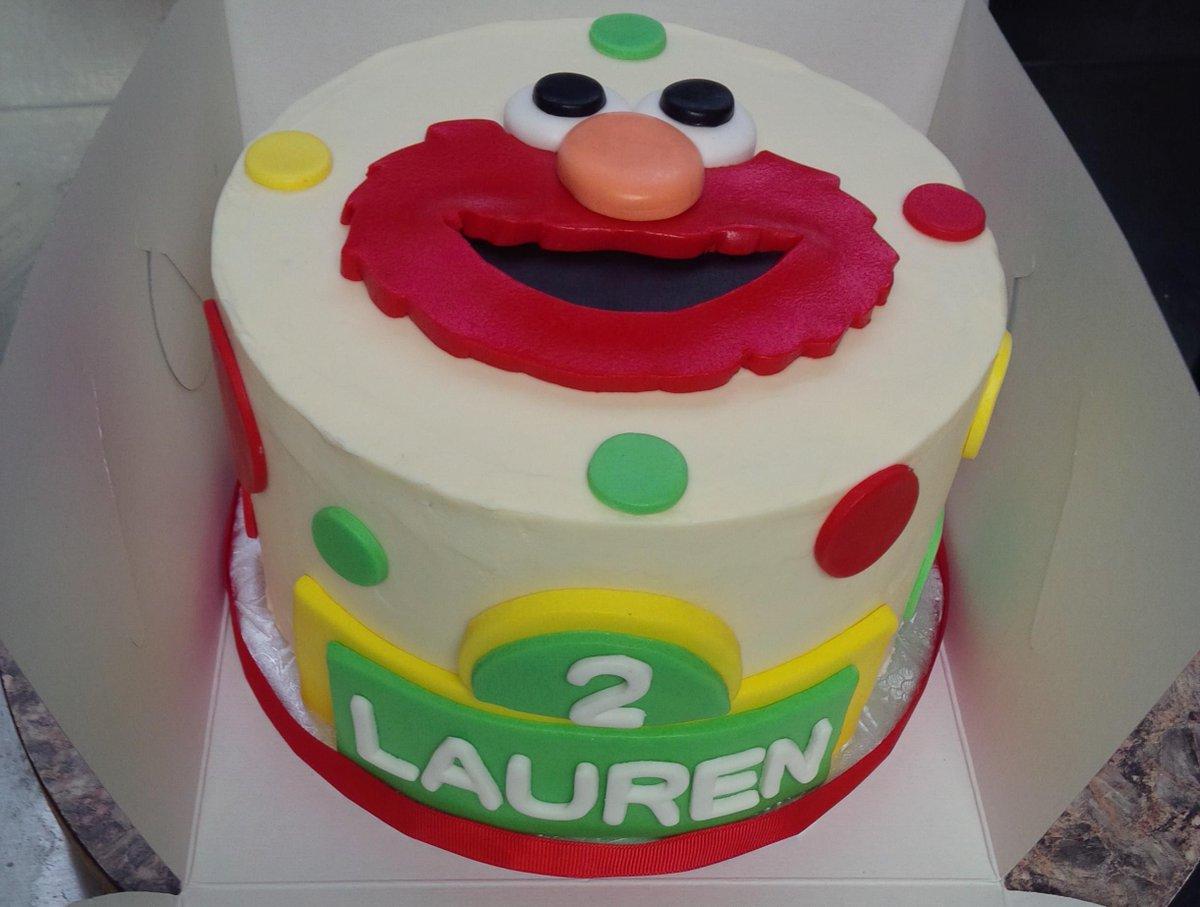 Astounding The Cake Engineer On Twitter Elmo And Sesame Street Themed Personalised Birthday Cards Sponlily Jamesorg