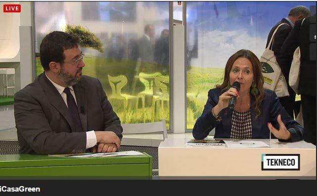 """Gabriella Chiellino: """"Possibilità di #efficienzaenergetica di #iCasaGreen sono reali e riguardano risparmi concreti"""" http://t.co/VSSMVaQ92A"""