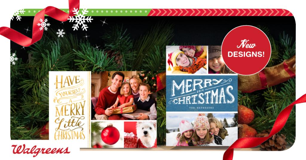 Walgreens Christmas Card.Walgreens On Twitter Start Your Merry Mailings Our New