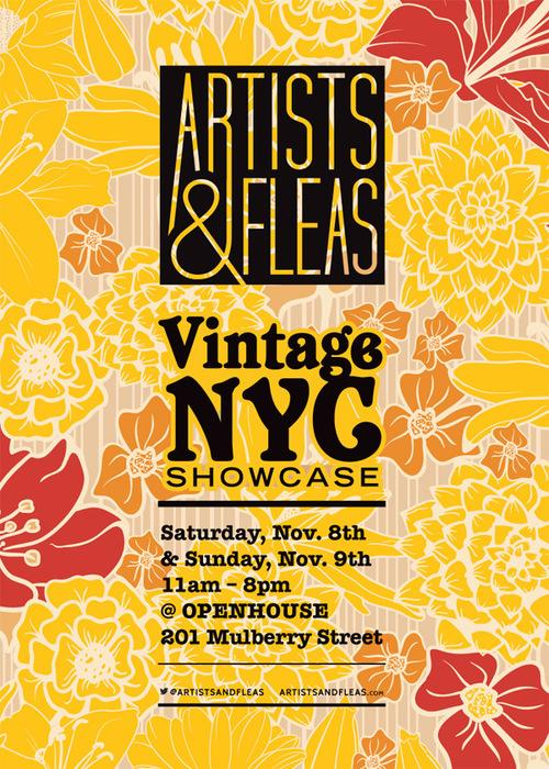 Don't miss the @artistsandfleas pop-up this Saturday and Sunday at 201 Mulberry! They'll be open from 11am-8pm. http://t.co/bmWd6A92N9