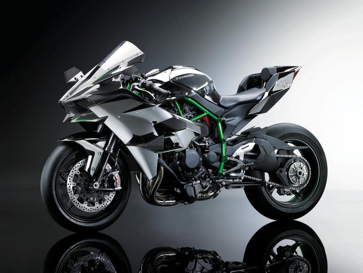 Kawasaki H2r 0 100 Time Idea Di Immagine Del Motociclo