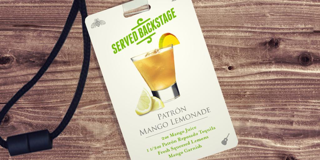 This might be the biggest hit at tonight's #CMAawards. #Patron Mango Lemonade (Recipe: http://t.co/P5JbCYJpNZ) http://t.co/Pq9JMC2jBu