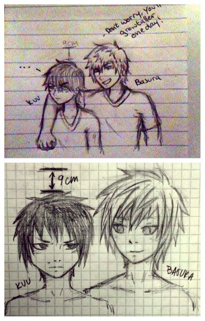 The same idea, different artists xD Basura feat. Kuu ( @DragonXscythe ) http://t.co/iINGPnRP2I