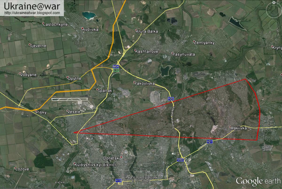 Обстрел школы №63 в Донецке велся из Макеевки, - СНБО - Цензор.НЕТ 2195