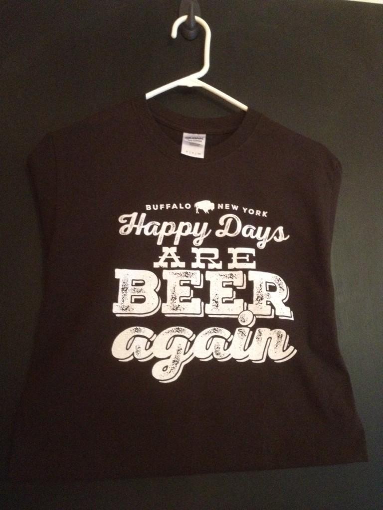 We have tshirts! S-M-L-XL #Buffalo #beer #buffalove #queencitypopup #marketarcade #buffalotheatredistrict http://t.co/ANp9O8iPyT