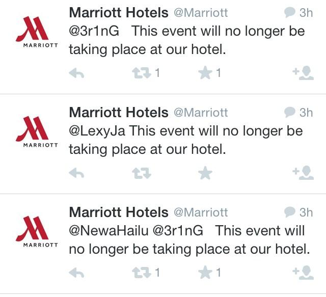 Thanks @Marriott #takedownjulienblanc http://t.co/LhOMGYJHeD