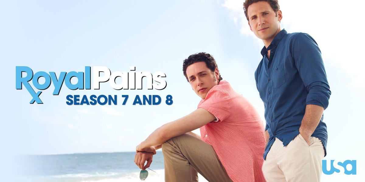#RoyalPains has been renewed for two more seasons! Retweet if you're excited, #Hamptonites. http://t.co/ROonM1KV03