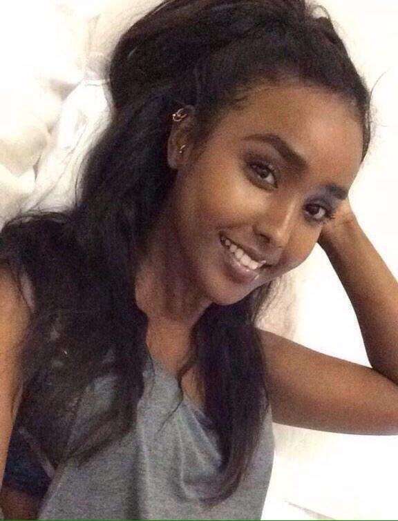 Girl in somali