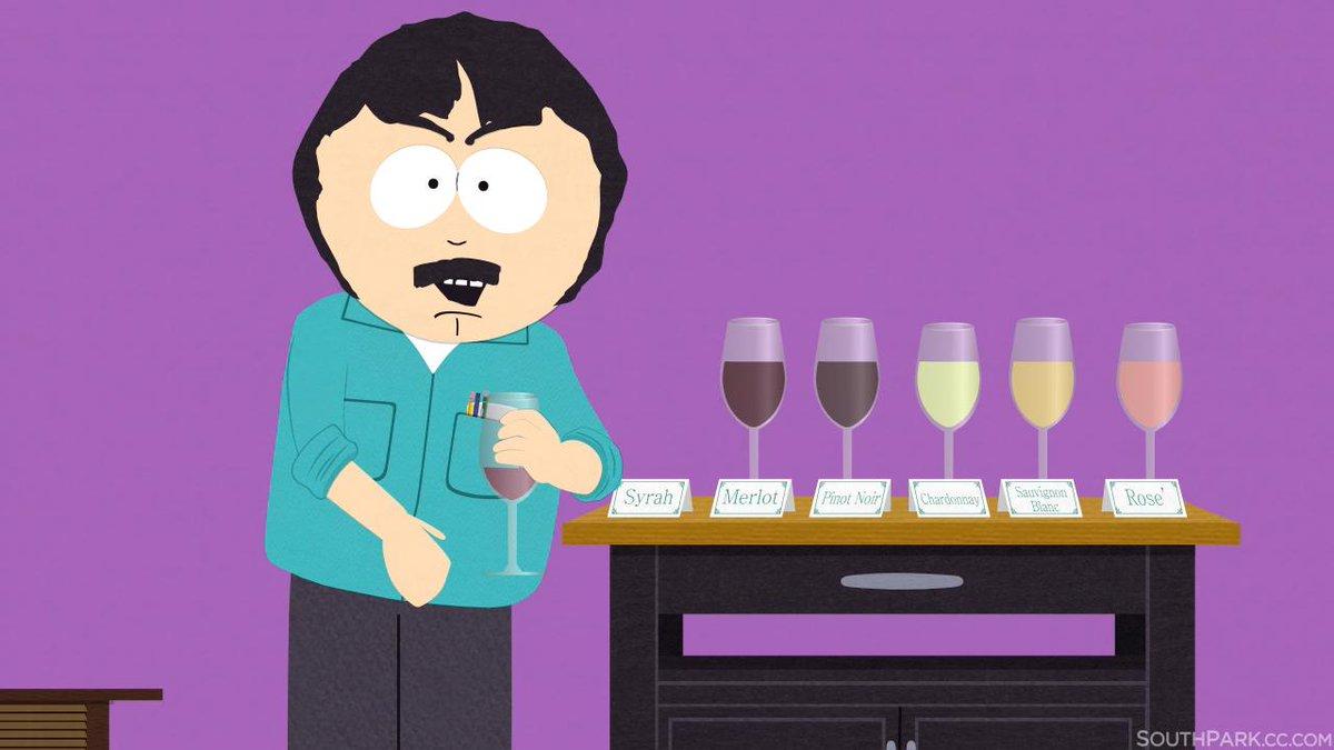 "heh!>""I'm not having a glass of wine. I'm having 6.It's called a 'tasting' & it's classy. #SouthPark"" http://t.co/vSZEJZkORT MT @SouthPark"""