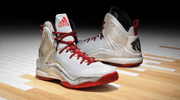adidas d rose 5 boost on feet