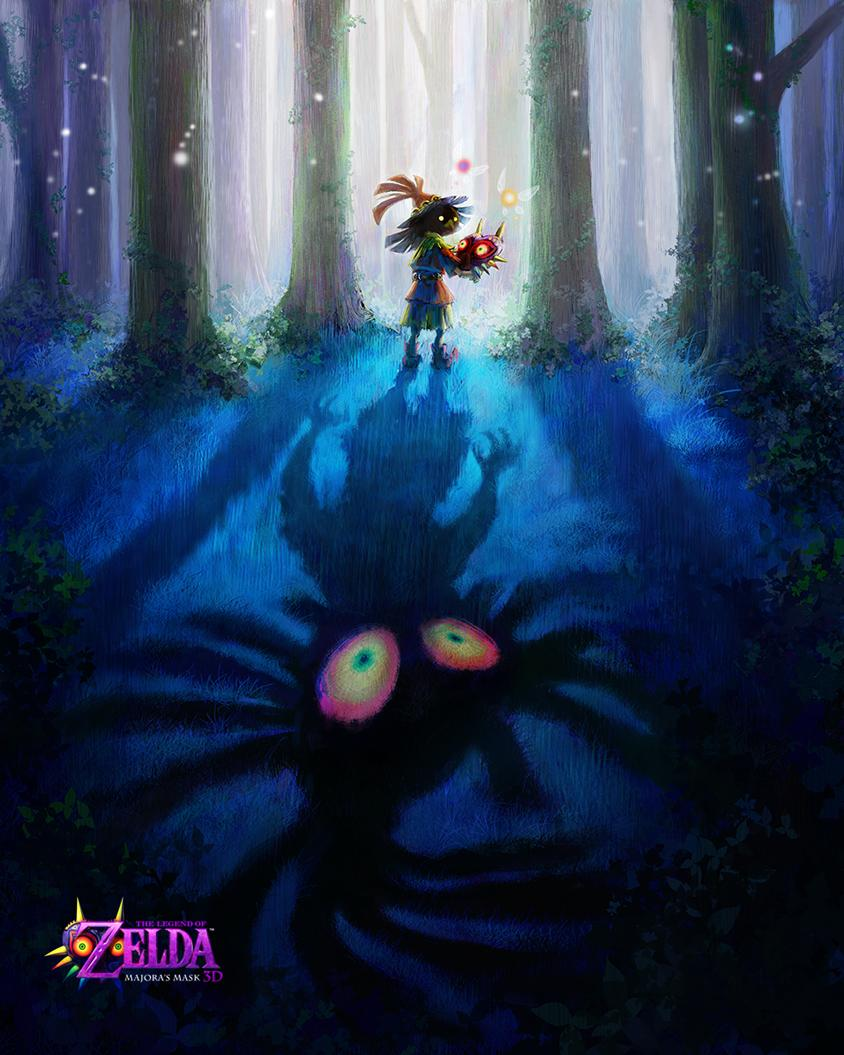 Majora's Mask 3DS announced! | NeoGAF