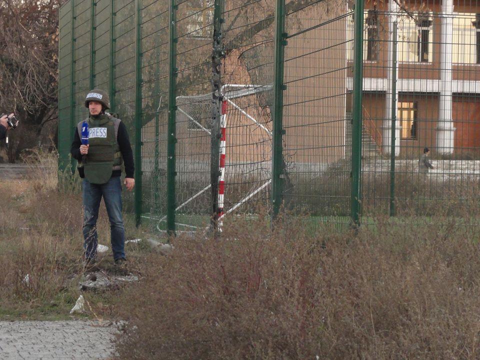 Обстрел школы №63 в Донецке велся из Макеевки, - СНБО - Цензор.НЕТ 4889