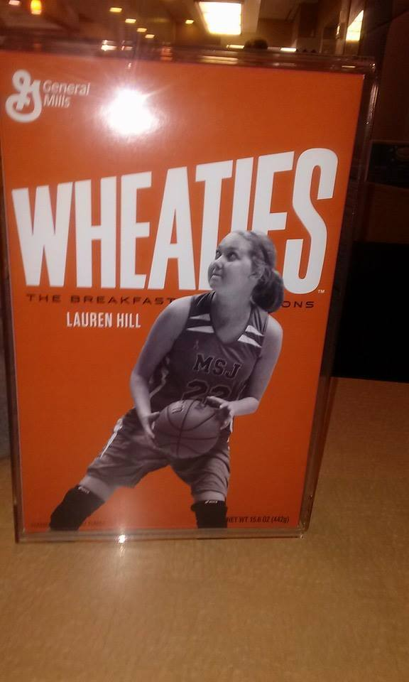 This. Is. Awesome.  Congrats #LaurenHill! #Layup4Lauren on @wheaties box! http://t.co/4lLMXfsiTo