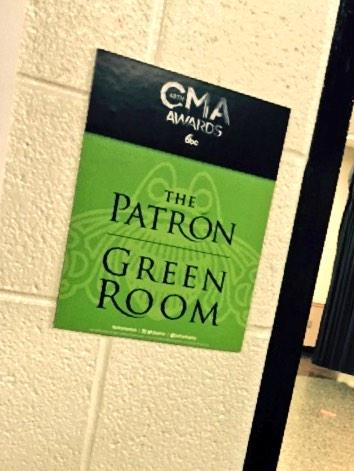 Country Music's finest are burning up the stage, but we're keeping it cool backstage w/ Patrón cocktails #CMAawards http://t.co/feAVaGU3BR