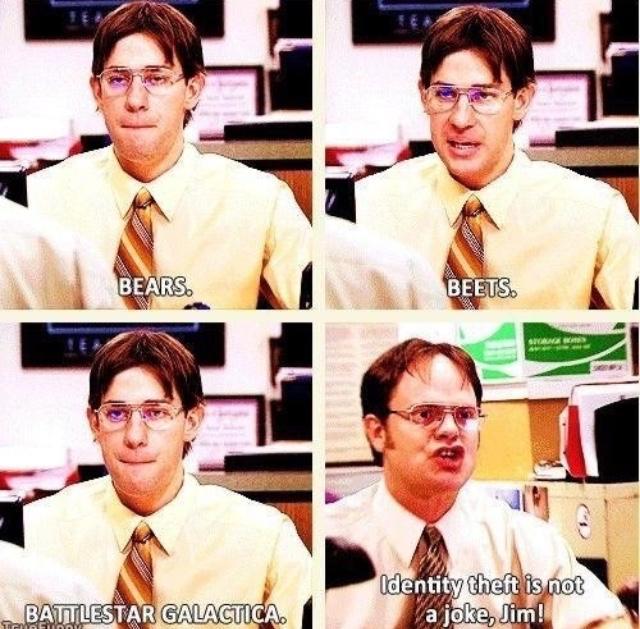 The Office US - Jim vs Dwight - Jim Impersonates Dwight ...