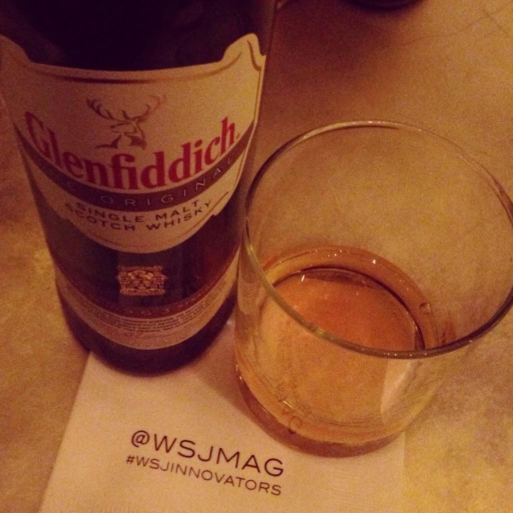 Tonight we're pouring #glenfiddich63 at the @wsjmag 2014 Innovator Awards! Here's to the pioneers. #wsjinnovators http://t.co/t08mm4PTfy