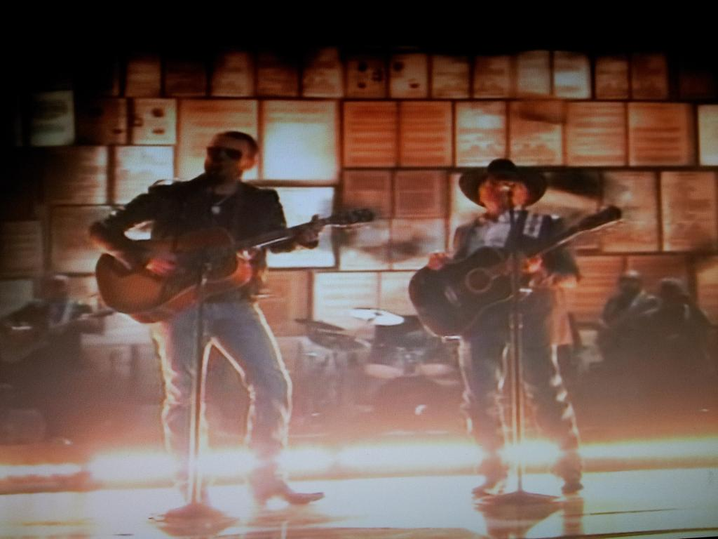 @ericchurch and George Strait ...that is all. #CMAawards http://t.co/vzboChJylO