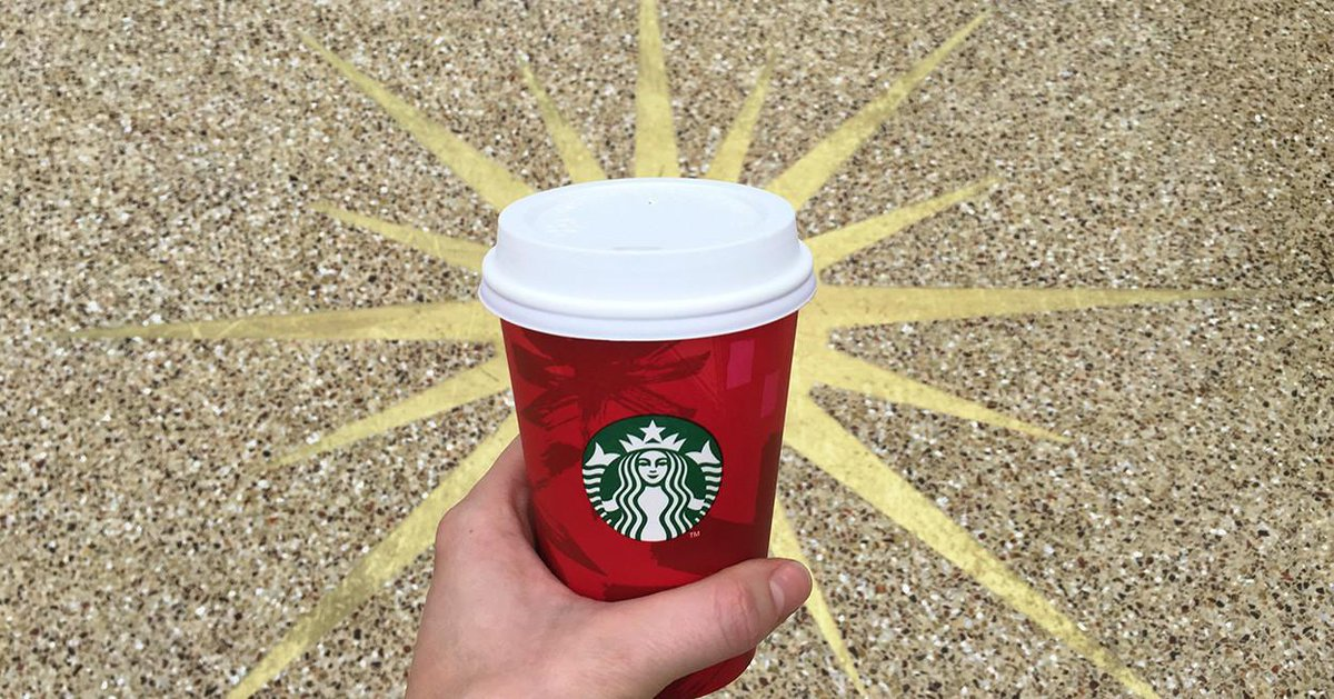 They're here #RedCups http://t.co/rIoTiBUi65