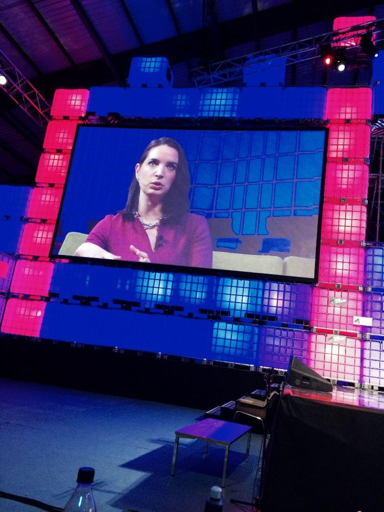 #websummit She raised 50 million, hired 40% women, leads e-commerce success and does not need silicon valley http://t.co/qNZg5akEdh