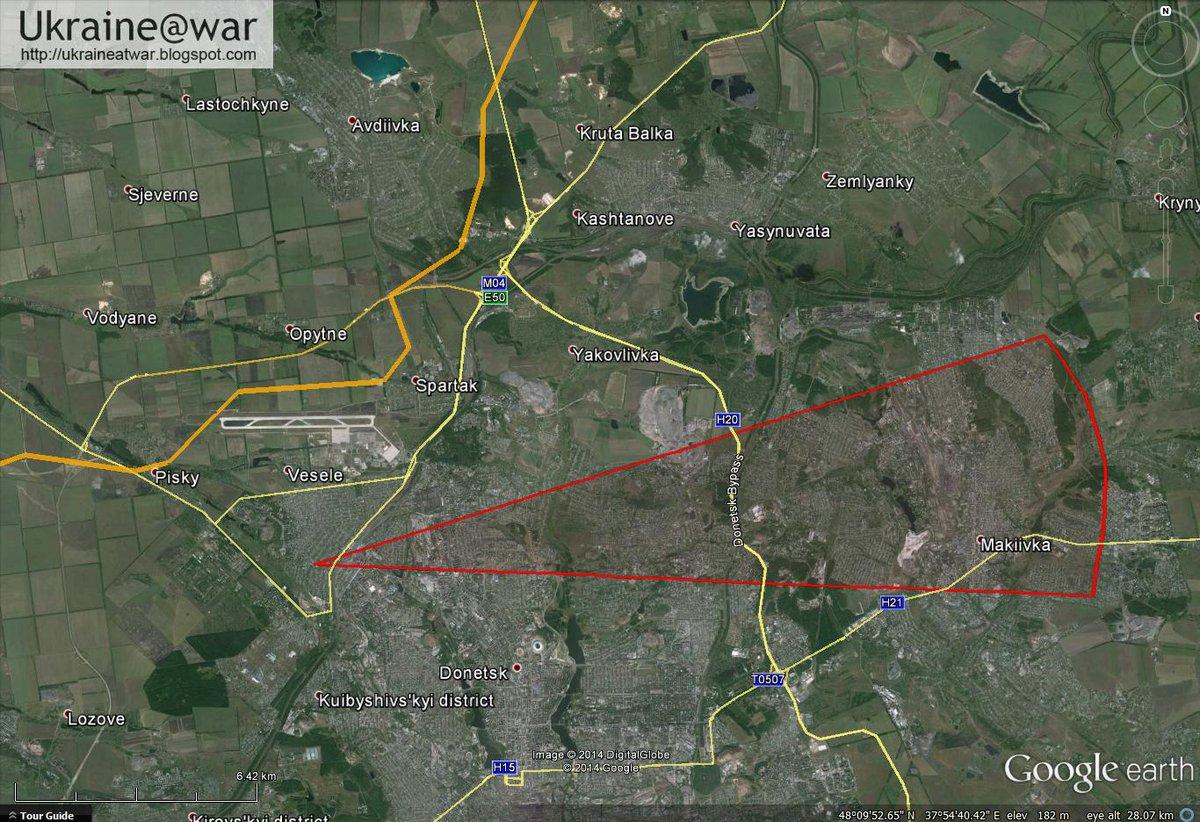 Обстрел школы №63 в Донецке велся из Макеевки, - СНБО - Цензор.НЕТ 9081