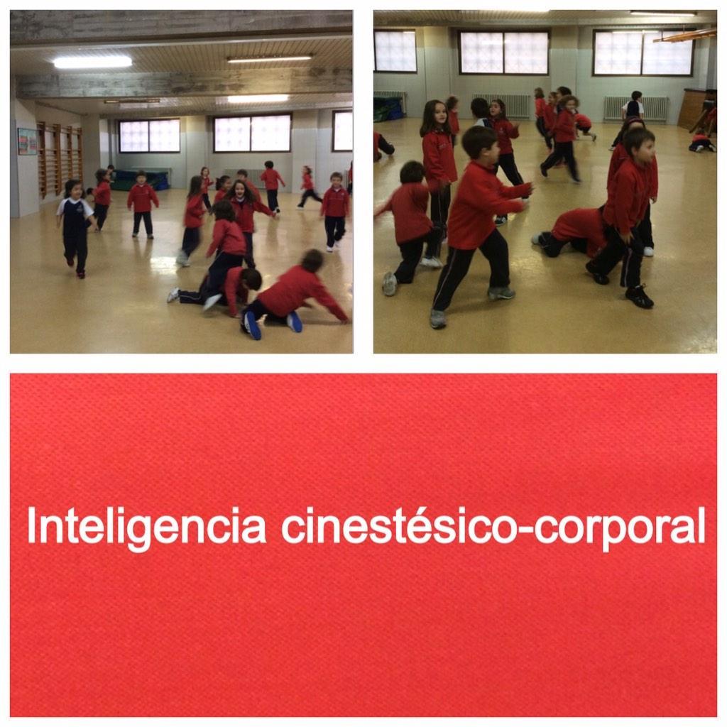 Trabajando una de las inteligencias. Educación Física 1ºC #ourenseenruta #compostelaenruta http://t.co/thVPIiYxCA