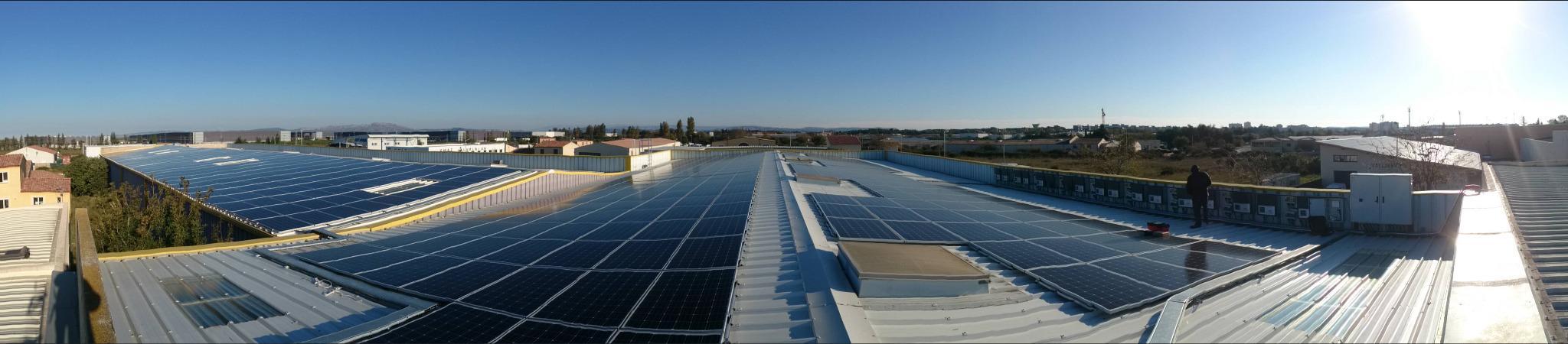 centrale solaire toiture