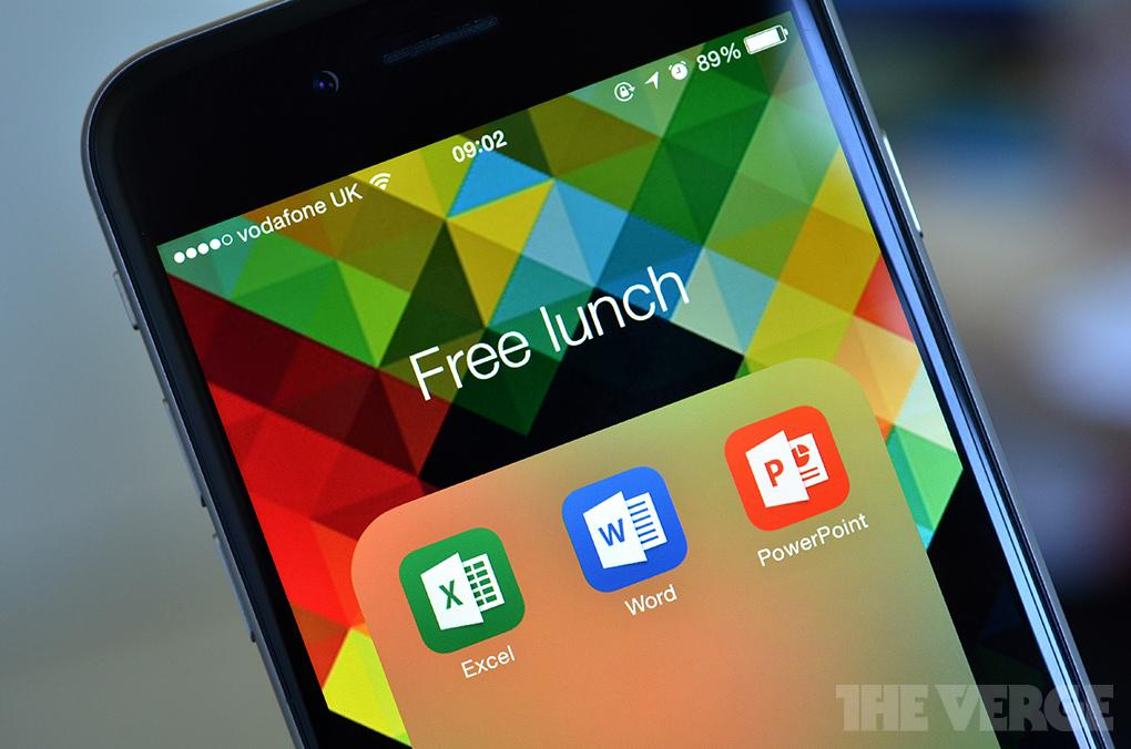 Big news! Microsoft is making Office for iPad, iPhone, and Android FREE http://t.co/wUzglpEXKo http://t.co/I8JiEYC4gA