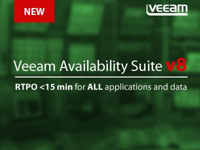 Awesome! Veeam Availability Suite v8 has been released! #alwayson http://t.co/vyKvhEqXAW http://t.co/pg8p5lUbPL