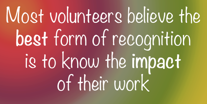 #Volunteers like to be thanked in person on an ongoing, informal basis so #saythanksoften http://t.co/TZHMC5xwDE