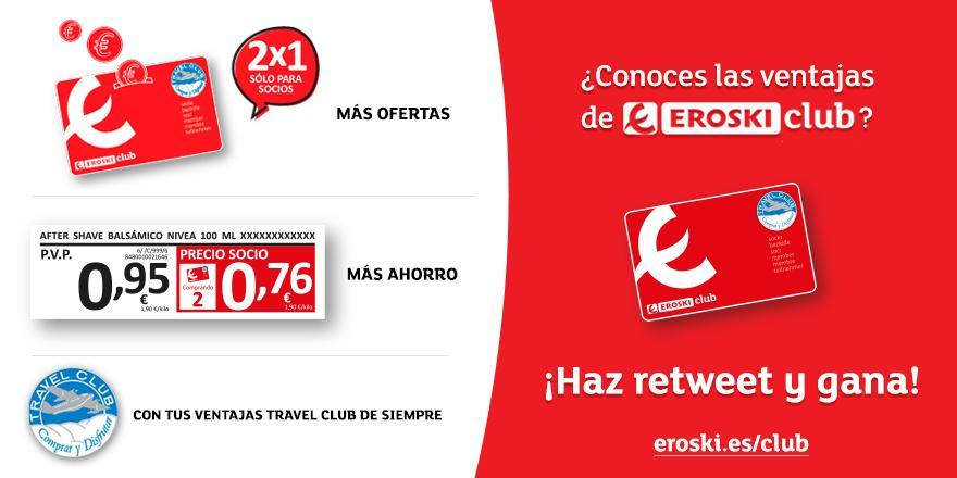 ¡Nuevo #ConcursoEROSKIclub! Si te gustan las ventajas de ser socio haz RT y gana 500€. Info: http://t.co/gmnBLRn4t5 http://t.co/L8xoBtFn2D