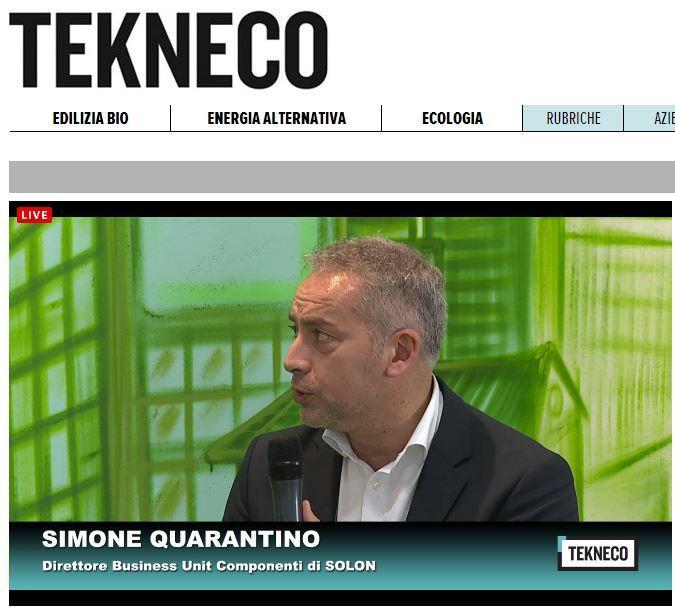 Riprendiamo la diretta da #iCasaGreen con Simone Quarantino di #Solon http://t.co/oBQHbJ277t http://t.co/LNOZoNciDJ