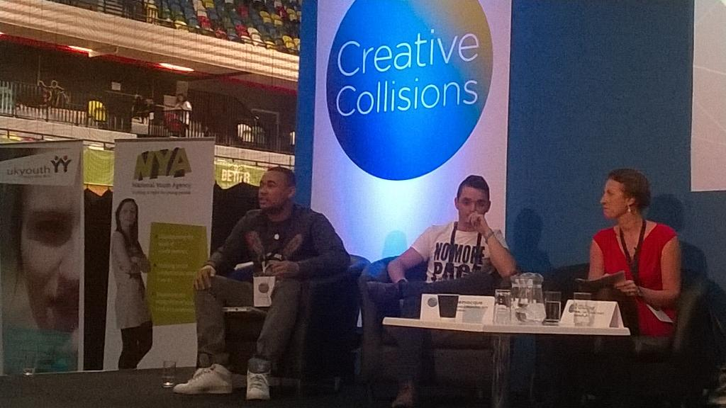 """We need dialogue now. We know our value. Stand together against cuts to youth services"" #CreativeCollisions http://t.co/VJHMNgxVcr"