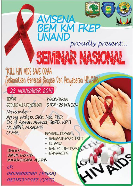 Seminar Nasional Kill Hiv Aids Save Odha Festival Fair