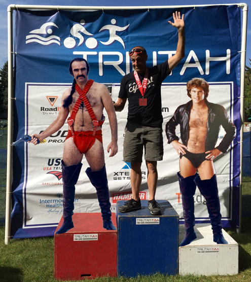 If you podium cuz nobody else is in your age group, it's OK to photoshop in 2nd and 3rd. http://t.co/dQDW9opU2H http://t.co/AFIHzizO1t