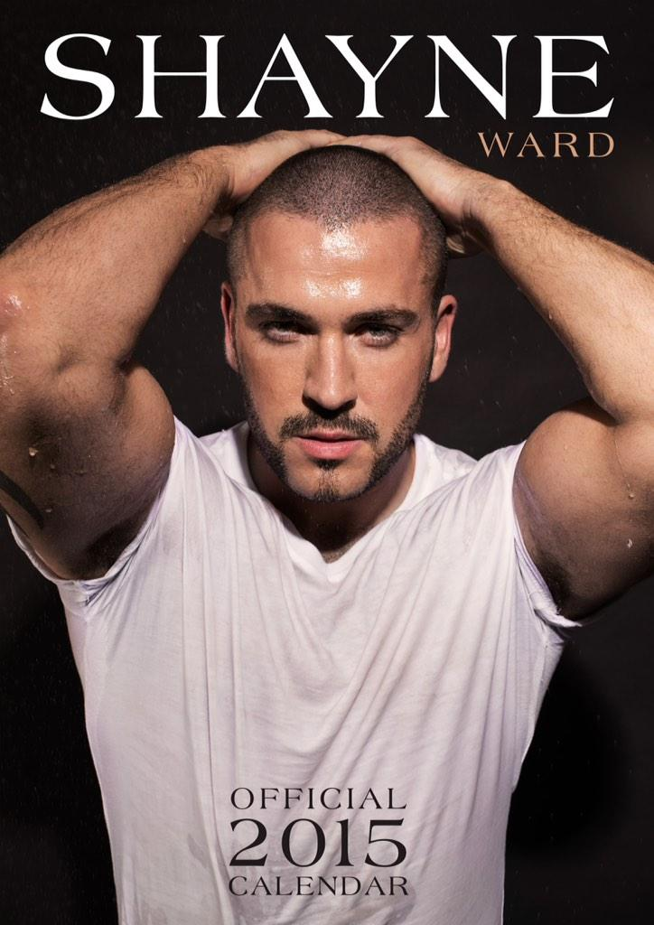 shayne ward on twitter   u0026quot it u0026 39 s here  my official calendar