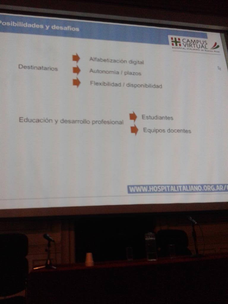#CETICSHI desafíos de la educación en línea en la perspectiva de @laumagallan . Cc @CampusHI @CETICSHI http://t.co/UhMyc4hGPd