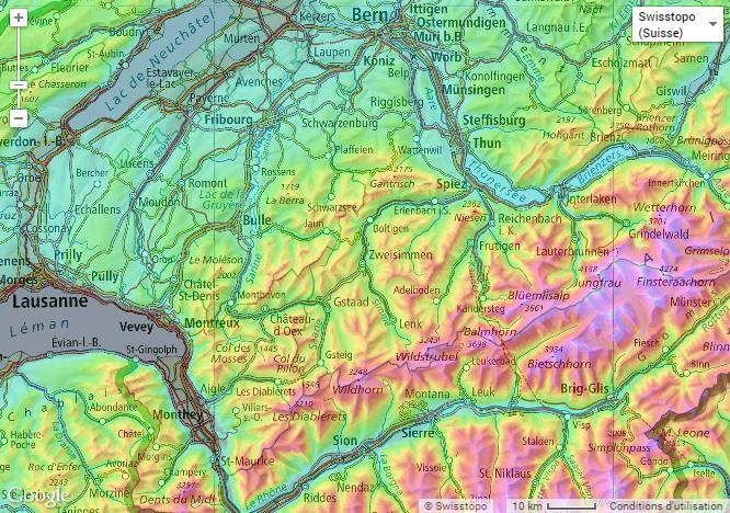 Topographic Map Com On Twitter Combine The Hypsometric Coloring