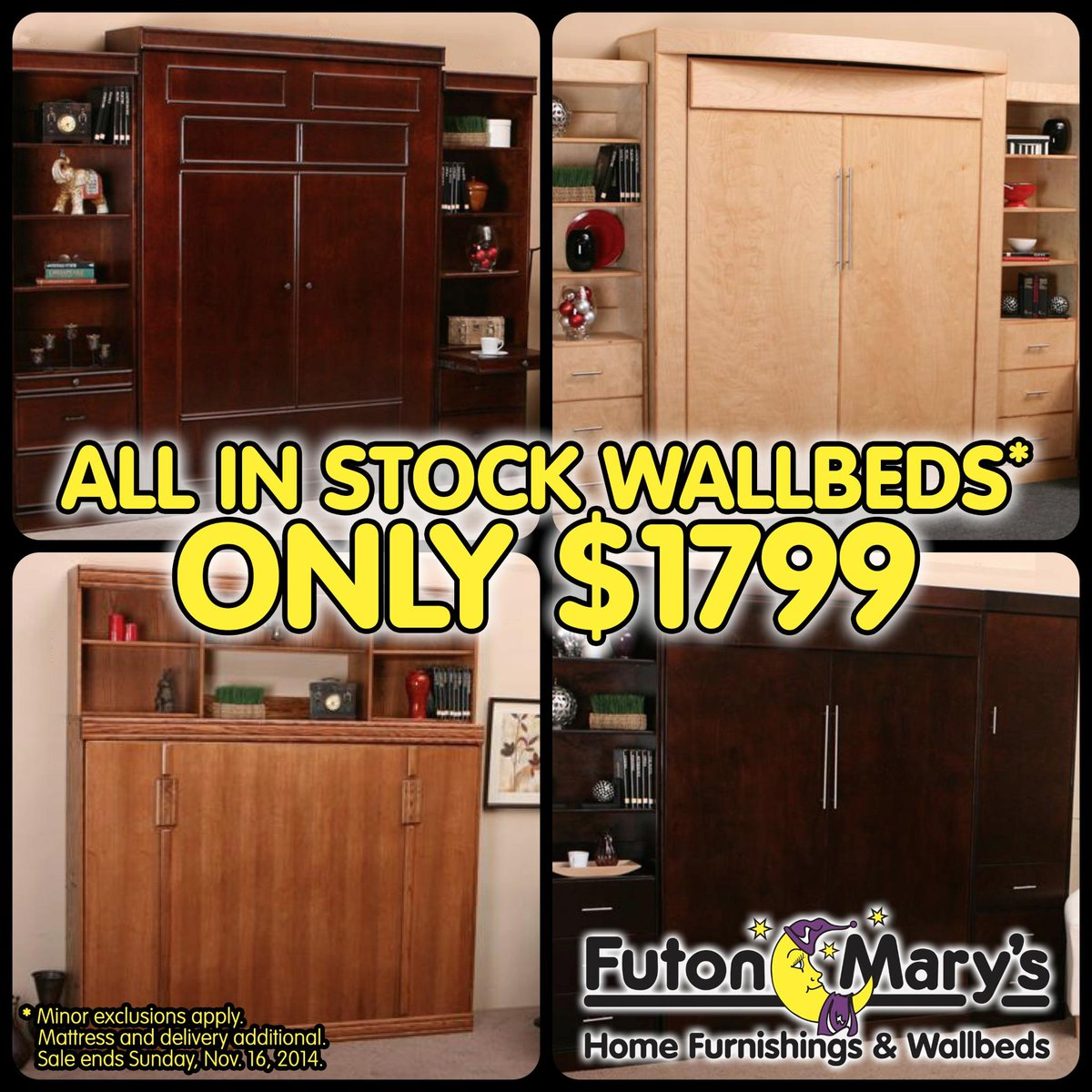 Marys Hide And Sleep On Twitter Mary S Futons Is Having A Wall To Wallbed Clearance Get Details Here Http T Co Xr8rjlwdvg Marin