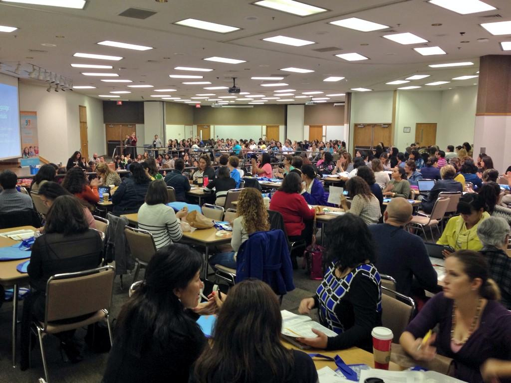 #2014DLC FULL HOUSE at the 2014 ESC Region 20 Dual Language Conference. http://t.co/ear7IY747G