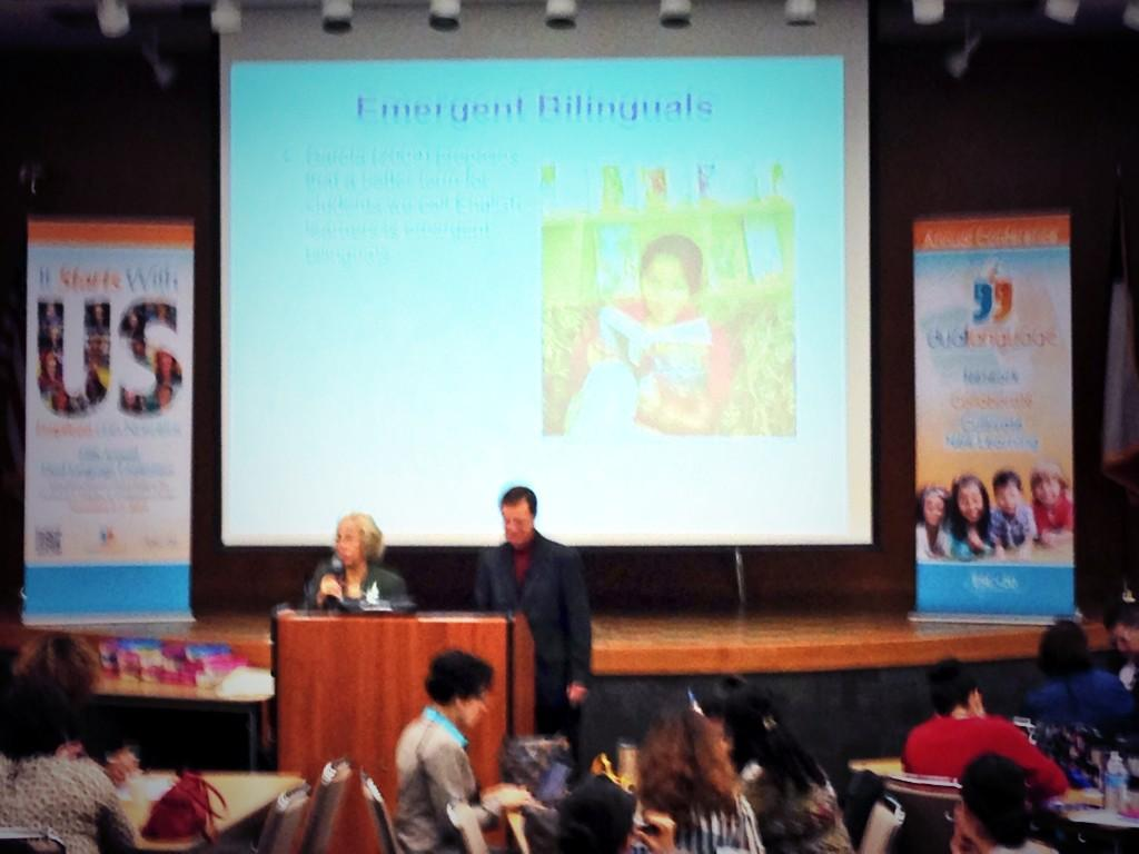 #2014DLC Dr Yvonne and Dr David Freeman, keynote speakers at the ESC Region 20 Dual Language Conference. http://t.co/1grlAzkNiv