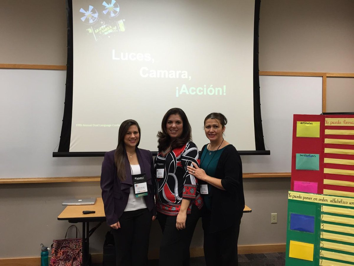 Immersion and Dual Language teacher leaders presenting at ESC 20 regional Dual Language conference. http://t.co/m2tbsVLKjz