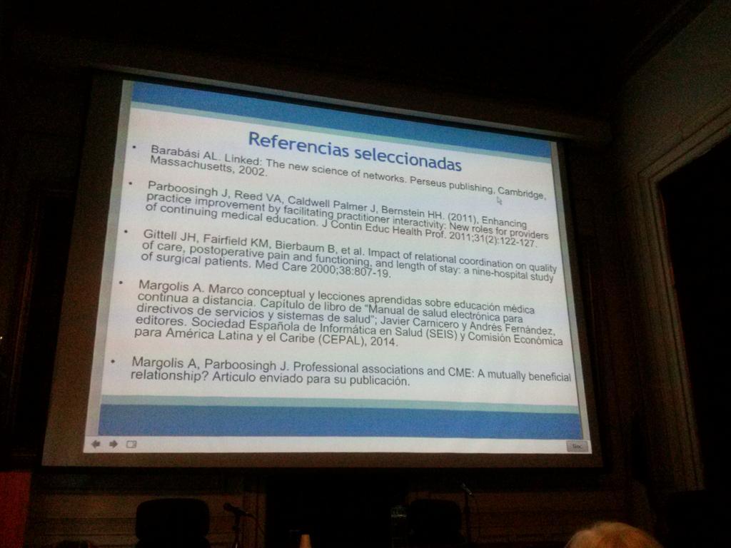 @AlvaroMargolis recomienda lecturas para ampliar sobre redes profesionales #ceticshi @FIUEMHI http://t.co/7eSHChl1Jm