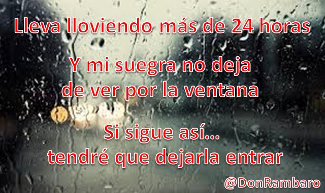 Mi suegra y la lluvia... http://t.co/deKz9B7MFg