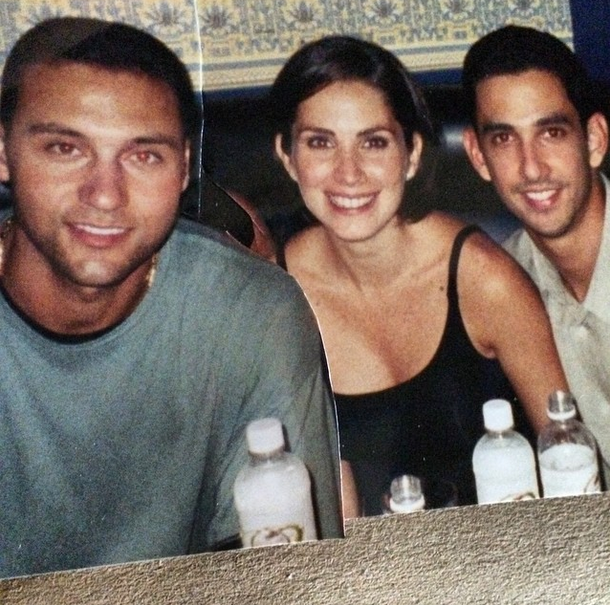 #TBT Let's go back in time to 2000 with these two, Derek Jeter and Jorge. Great memories! http://t.co/0e7utGWU8J