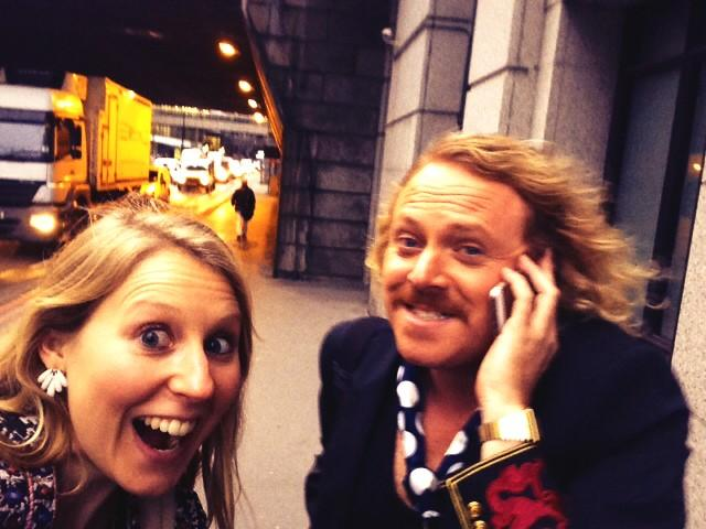 RT @HermsLawton: Sprint across London after abandoning car in traffic to @intuLakeside!Multi-tasking @lemontwittor on phone interview! http…