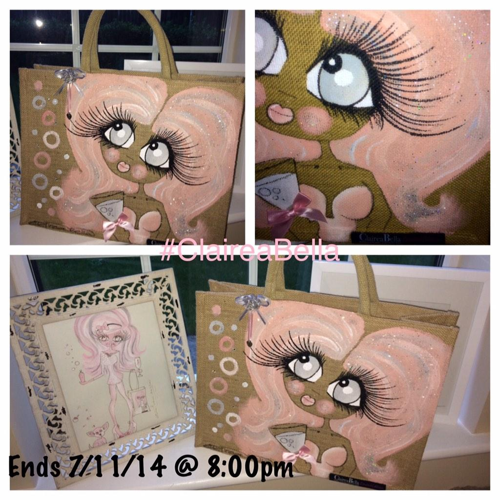 COMP TIME.. I'm giving away this beautiful LTD edition bag. Just follow me & RT this post to enter .. #ClaireaBella http://t.co/HJmKFpz2vB
