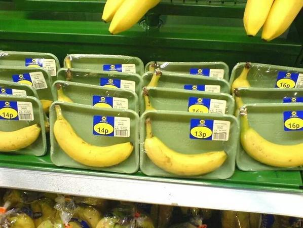 If only bananas had robust, natural, bio-degradable packaging of their own. Some sort of peelable skin, perhaps.